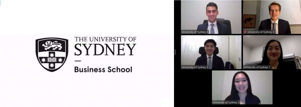 University of Sydney Business School were declared the winners of the CFA Institute Research Challenge