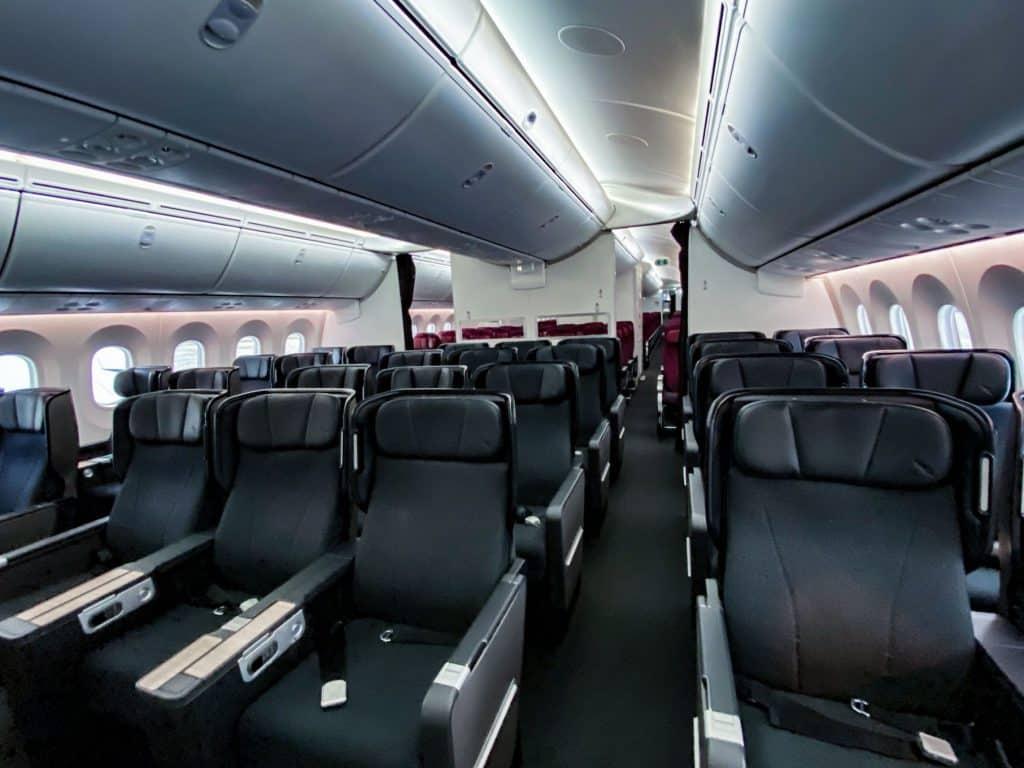 empty flight travel