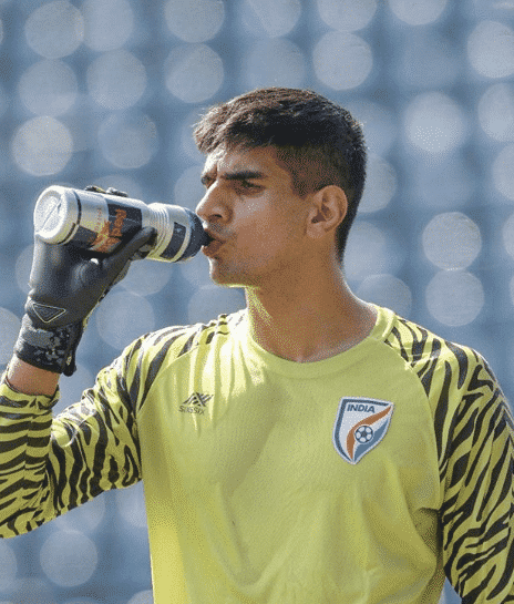 Indian football star Gurpreet Singh Sandhu