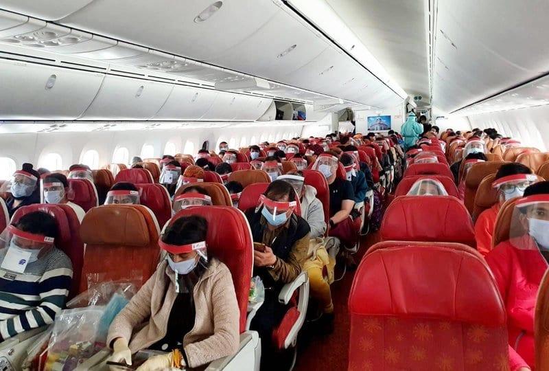 first Vande Bharat repatriation flight to India