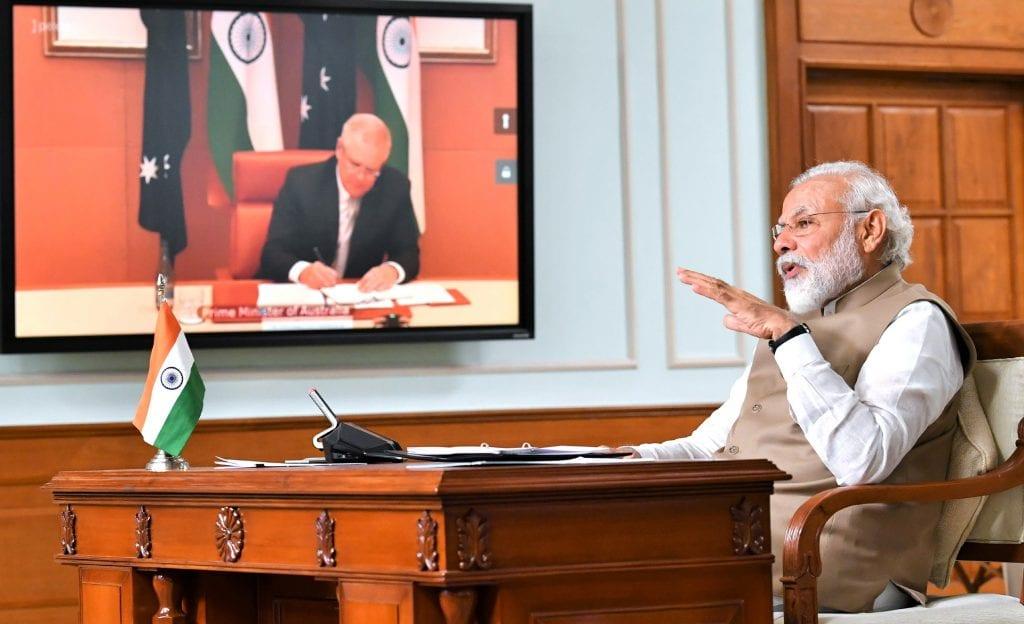 India-Aus virtual summit 2020