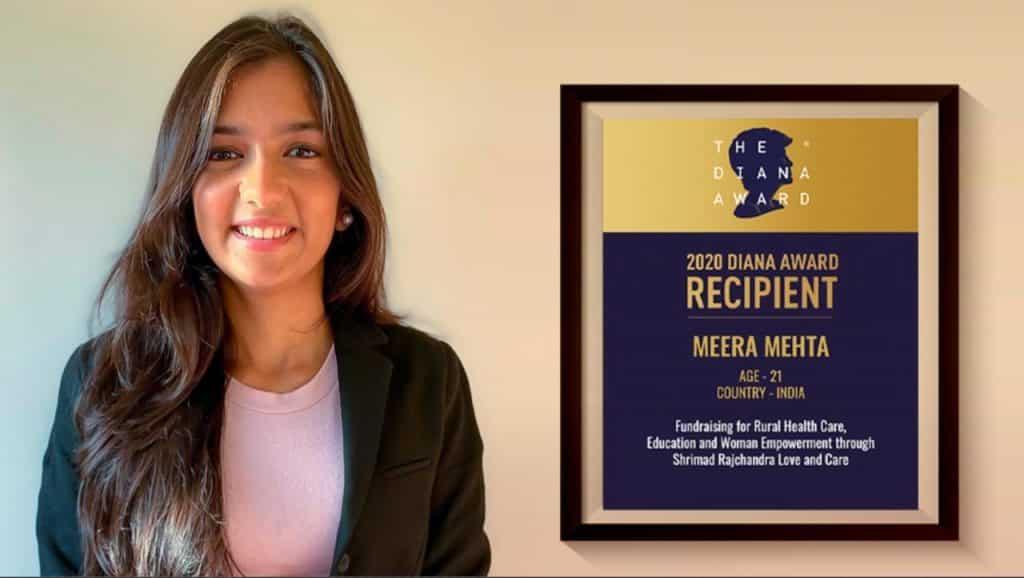 Meera Mehta Diana Award