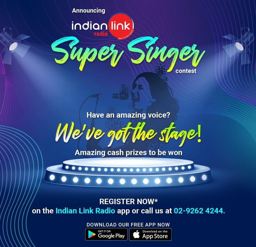 indian link radio's super singer contest
