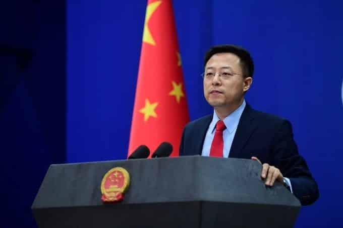 Lijian Zhao Chinese government
