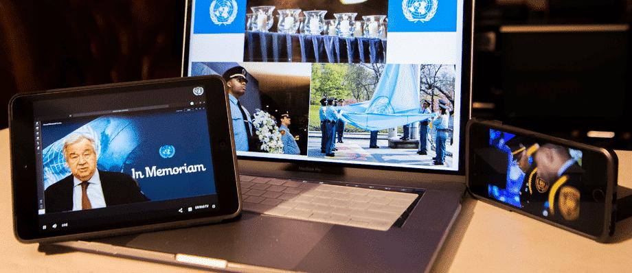UN has honoured an army lieutenant colonel
