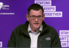Premier Daniel Andrews has announced border closures between the states of New South Wales and Victoria due to a rise in cases in the southern state.