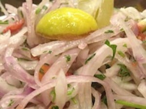onion cachumber