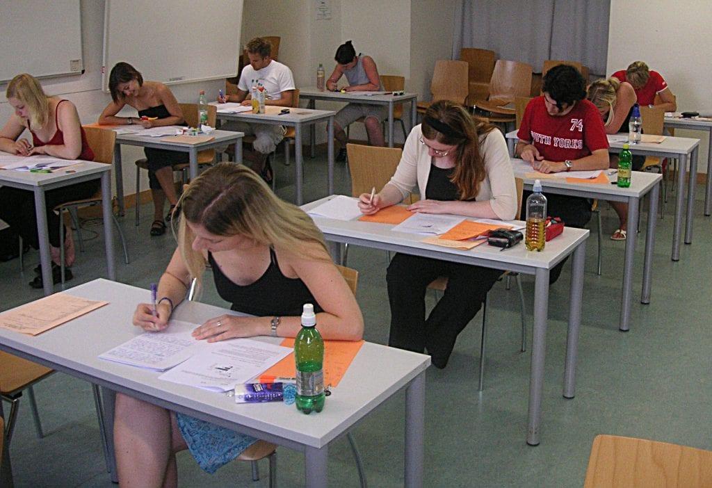 student test