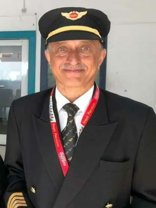Kozhikode pilot Captain D.V. Sathe