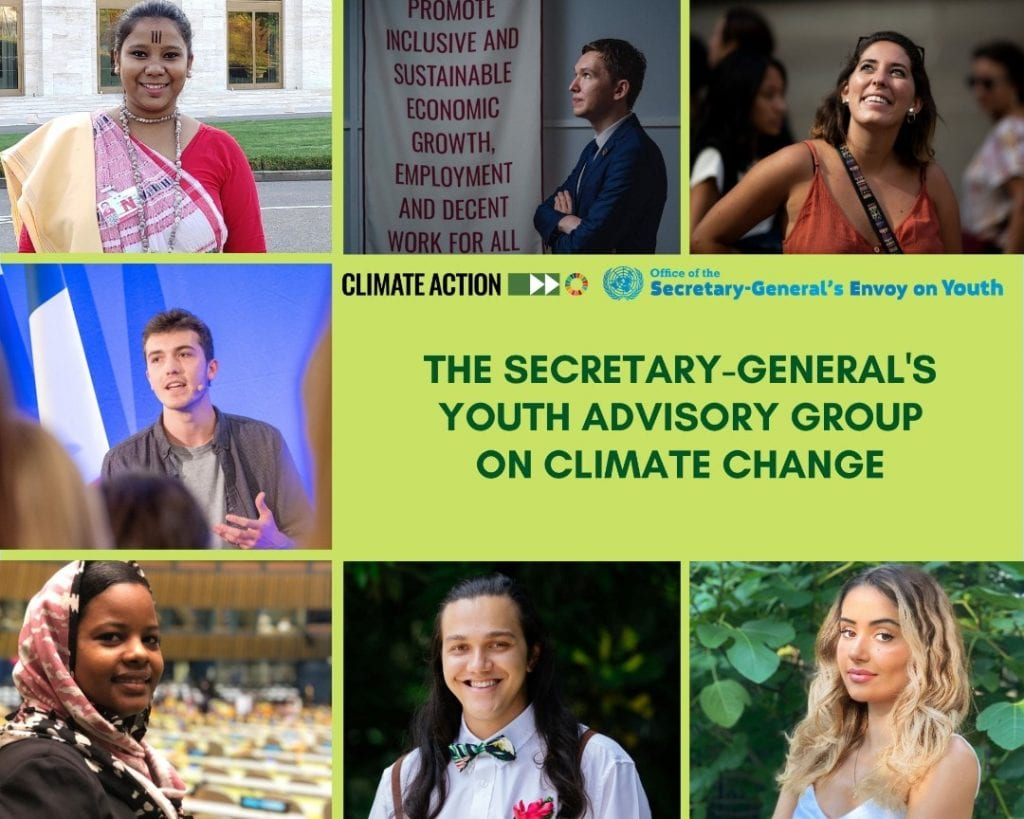 un youth advisory group
