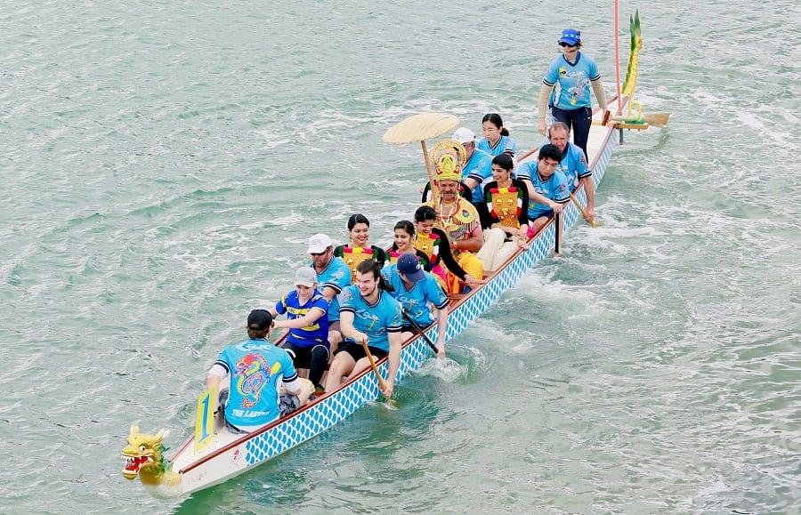 mahabali on snake boat, perth