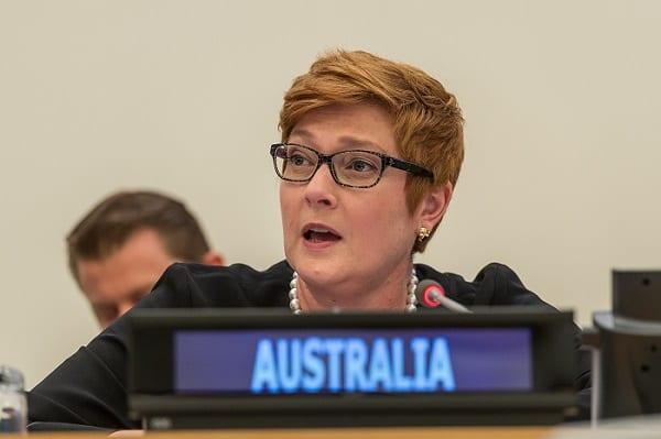 DTFA announces funding for Aussies (Australians) stuck overseas. Marise Payne