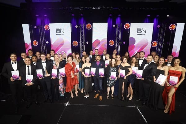 Winners at Business News' annual 40under40 ceremony held in Perth
