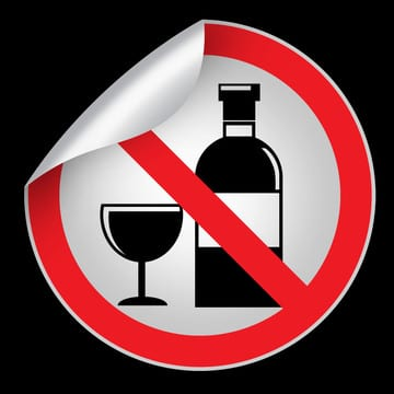 avoid alcohol before bed time