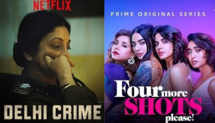 delhi crime and four more shots please posters
