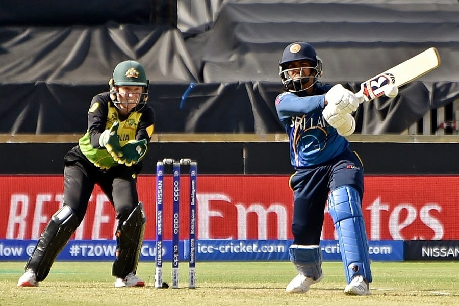 Sri Lankan batsman Shashikala Siriwardene and wicketkeeper Alyssa Healy