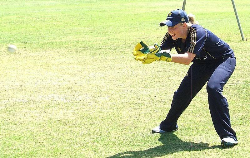 Australian wicketkeeper alyssa healy