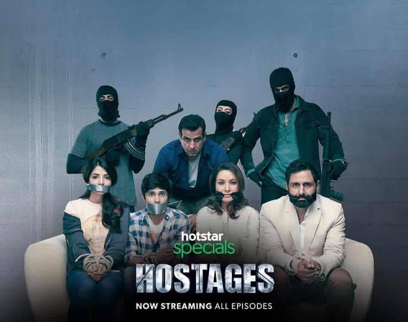 hostages poster hotstar