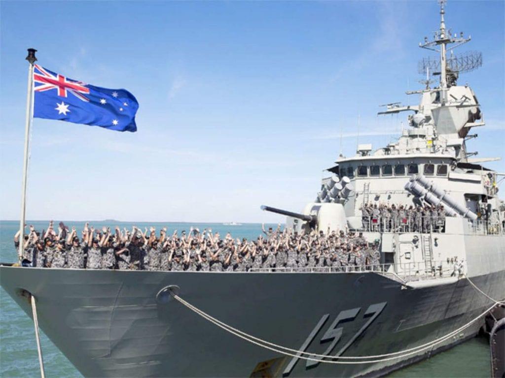 indian australian navy maritime exercise