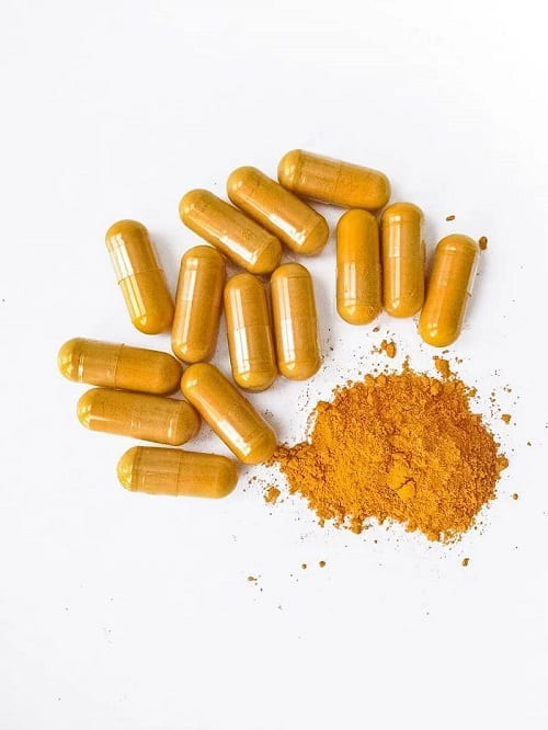 turmeric supplement pills can ameliorate osteoarthritis