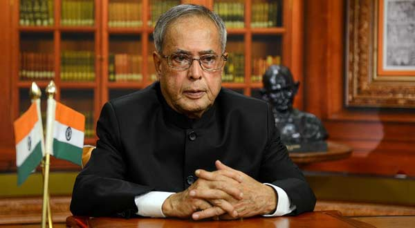 former indian president pranab mukerhjee