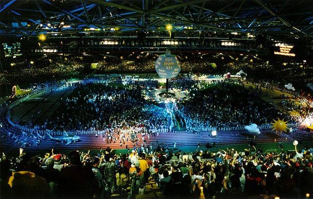 closing ceremony sydney olympic games 2000