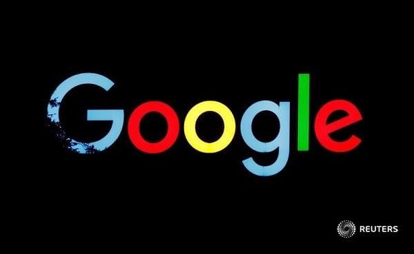 google logo smudged