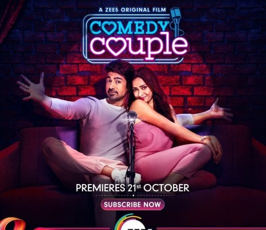 comedy couple film poster