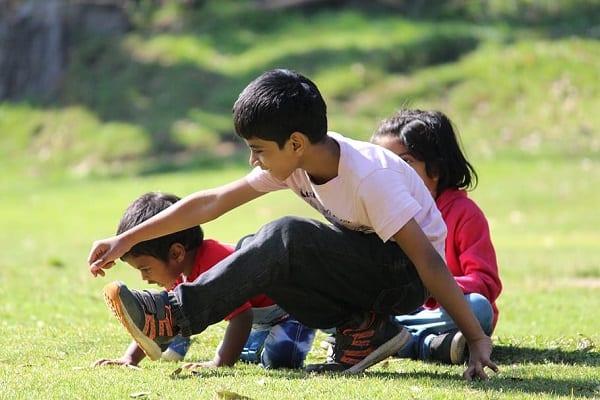 indian kids playing