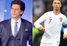 mcafee most dangerous celebs shah rukh khan and cristiano ronaldo