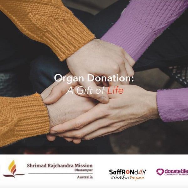 organ donation saffron day