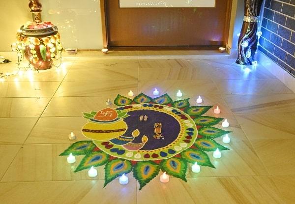 blacktown lights best rangoli