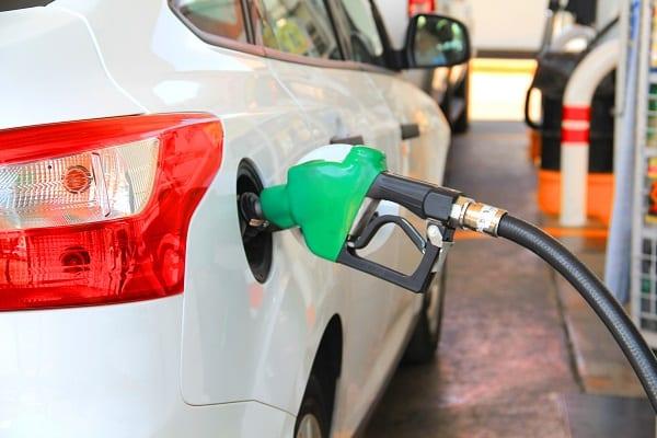 filling fuel in car