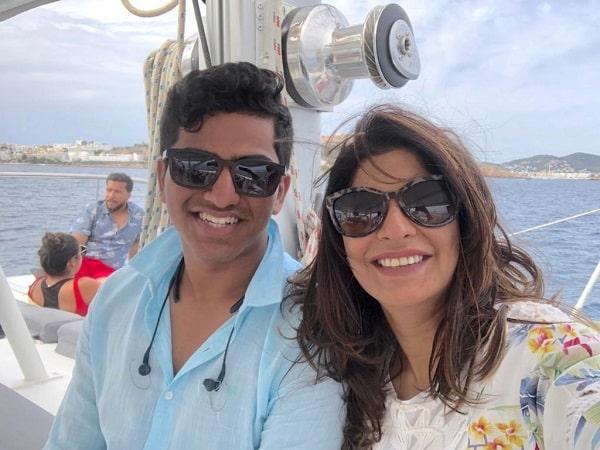 Sanjeevitha and Rahul bhagwat