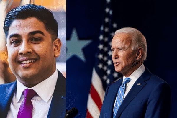 Vedanta Patel appointed by Joe Biden (us president elect).