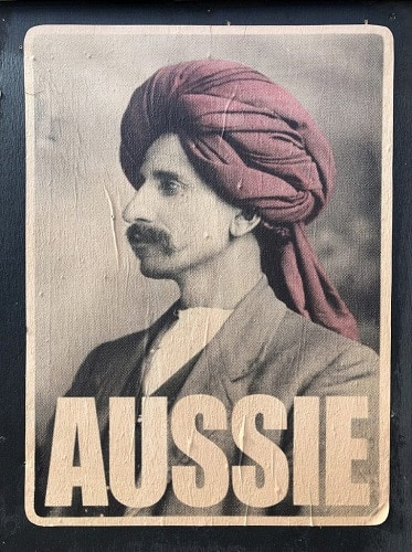 monga khan in i am aussie poster