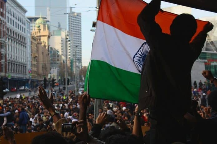 indian protest in melbourne