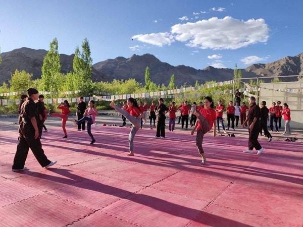 Buddhist Kung Fu nuns kicking hard at centuries-old taboos
