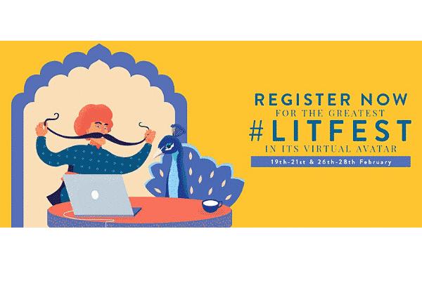 Jaipur Literary festival JLF 2021 virtual edition programme
