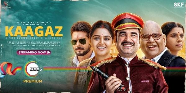 kaagaz film poster