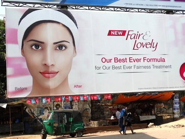 fair and lovely ad
