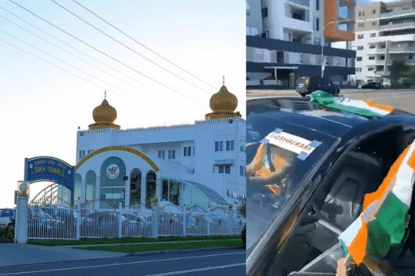 gurdwara sahib glenwood sikh temple, car rally arya samaj