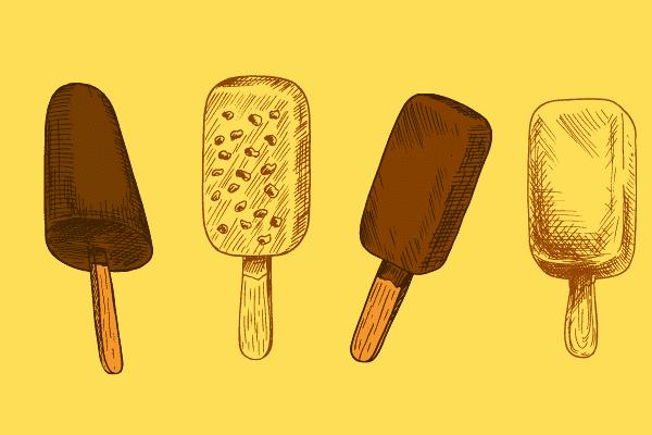 nutella icecream popsicle recipe