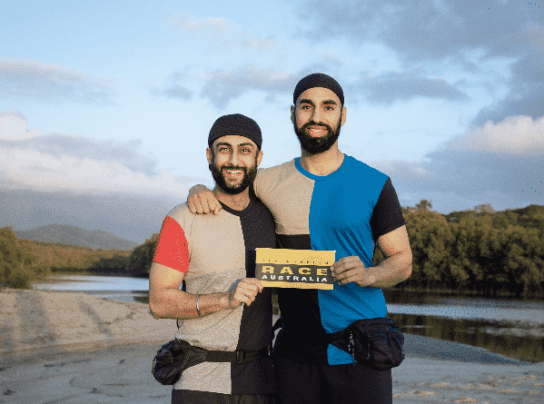 jaskirat and anurag amazing race australia
