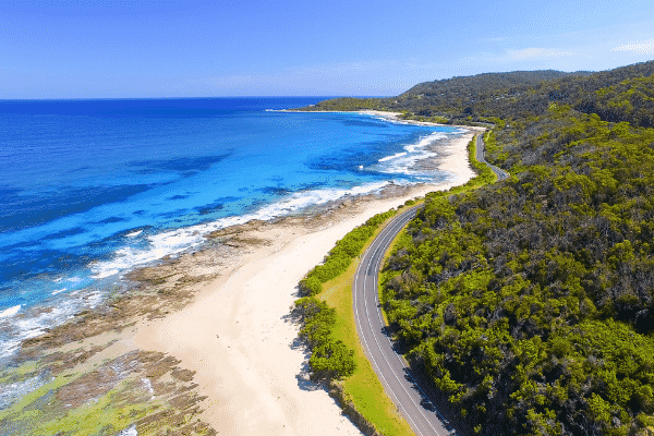 The Great Ocean road, Victoria. half price tickets domestic airfare