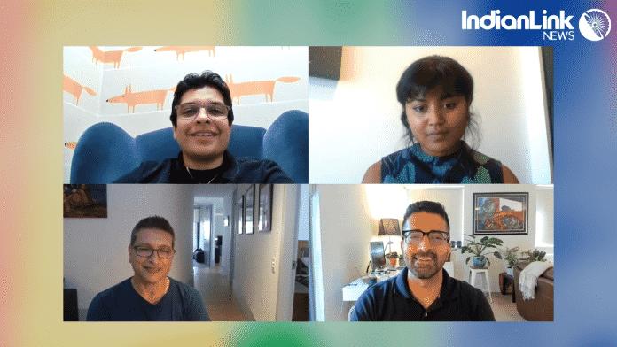 Queer support group Trikone Australia's Alan Maurice, Kunal Mirchandani and Ravin chat with Bageshri Savyasachi