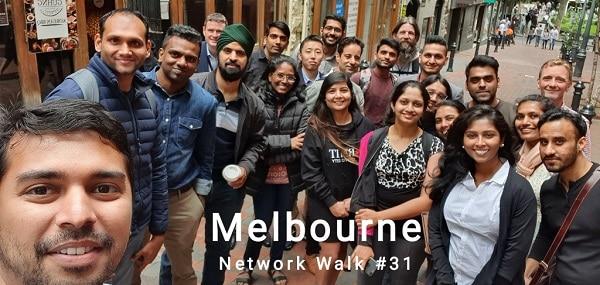 vinesh balan, network walk