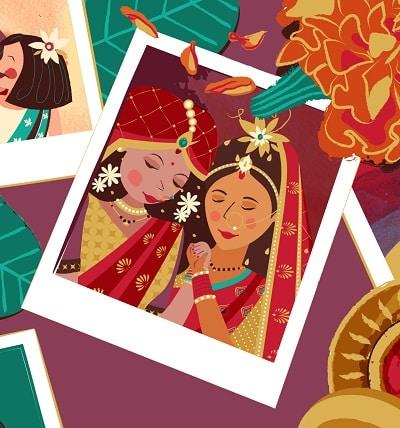 ritu weds chandni ameya narvankar childrens picture book
