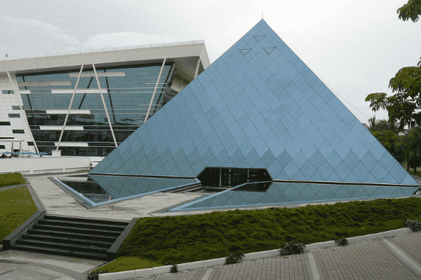 the infosys pyramid in Bengaluru
