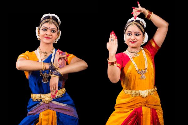 Pratiksha Chuttar and Dhanya Dinakar Bharatnatyam sydney arangetram